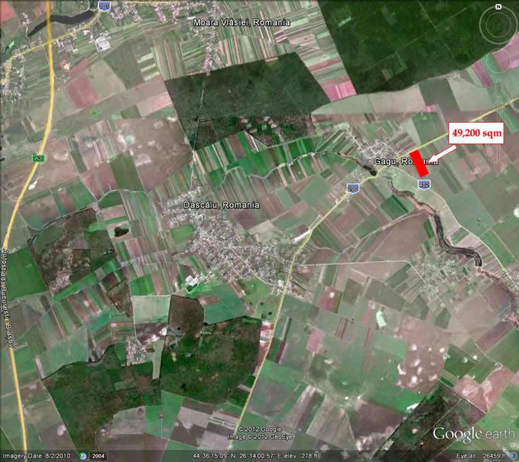 Land for sale: Dascalu