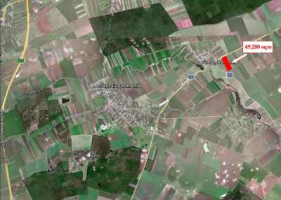 Land for sale: Crevedia 35.000 sqm