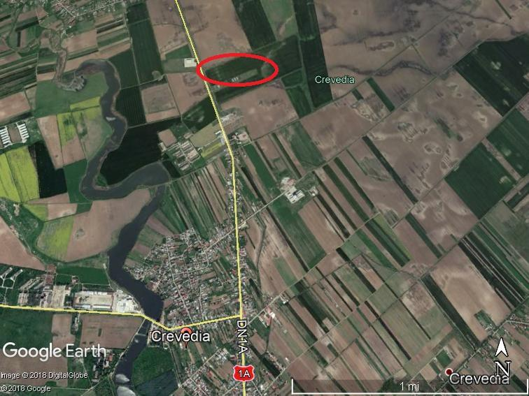 For sale: 33.578 sqm Crevedia area – plots for houses