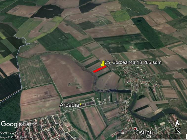 Land for sale: 13.265 sqm – Corbeanca, Ilfov