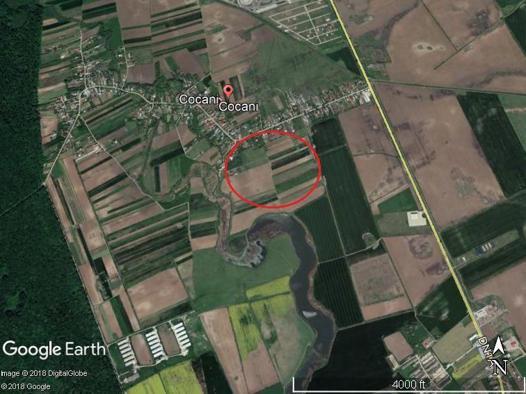 Land for sale: 5.800 sqm – Crevedia, Dambovita
